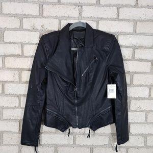 Blank NYC Faux Lather Moto Jacket NWT